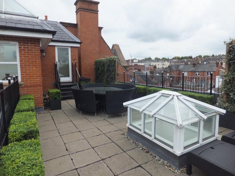 Roof garden design in Tunbridge Wells, Kent