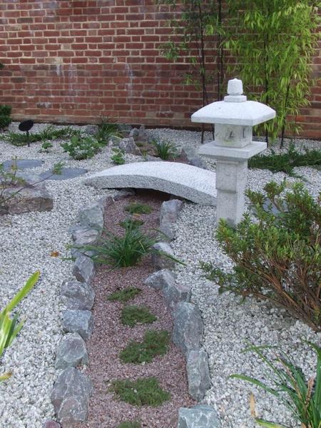 Japanese landscape design small garden in Tunbridge Wells