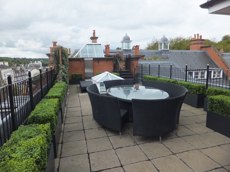 Roof garden design in Tunbridge Wells, Kent