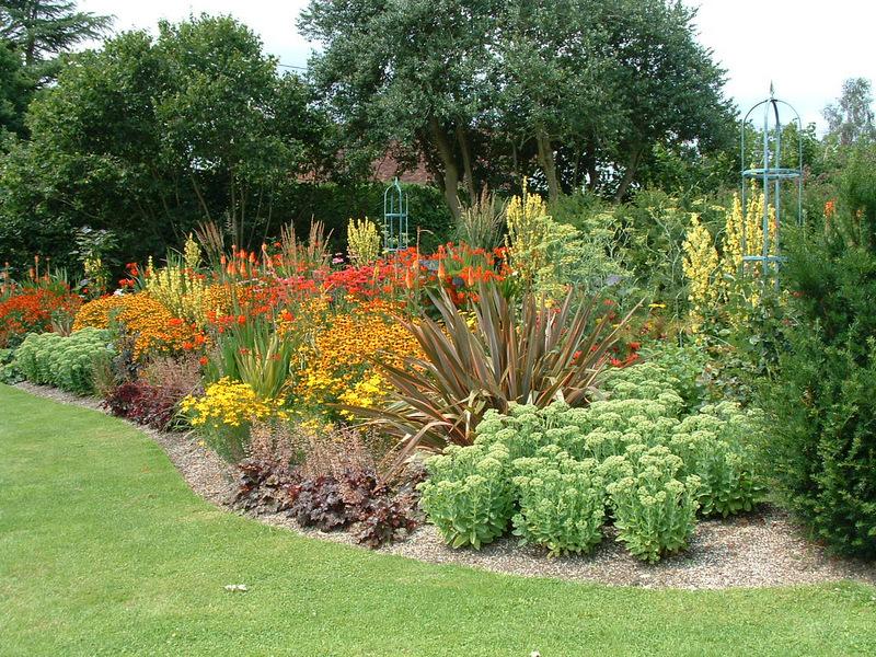 A formal Elizabethan garden I designed in Ticehurst near Wadhurst, East Sussex